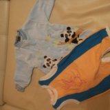 Детские вещи от 2 до 4 месяцев. Фото 1. Брянск.