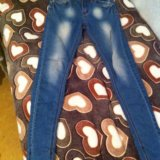 Узкие джинсы. Фото 1.