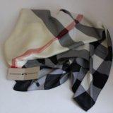 Burberry шёлковый платок. Фото 1.