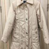 Куртка женская 42-44р молочного цвета. Фото 1. Москва.