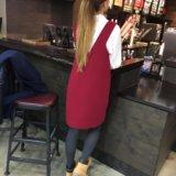 Платье-сарафан новое тёплое. Фото 3.