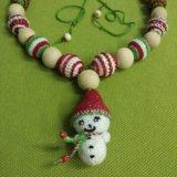 Слингобусы снеговик. Фото 2. Ивантеевка.