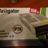 Блок питания navigator новый. Фото 1.