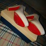 Туфли молочно-бежевые. Фото 4.