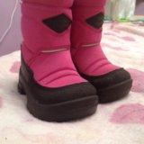 Обувь детская зимняя kuoma. Фото 1. Зеленоград.