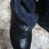 Зимние кожаные сапоги37. Фото 1.