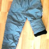 Утепленные штаны 4-6 лет. Фото 3.