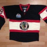 Хоккейный свитер reebok новый. Фото 1.