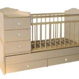 Детская кроватка трансформер. Фото 1.
