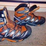 Ботинки трекинговые salomon. Фото 1.