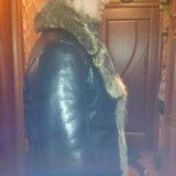 Мужская дубленка натуральная кожа натуральный мех. Фото 1. Москва.