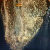 Мужская дубленка натуральная кожа натуральный мех. Фото 3. Москва.