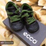 Ботинки экко 19 размер. Фото 2.