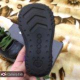 Ботинки экко 19 размер. Фото 1.
