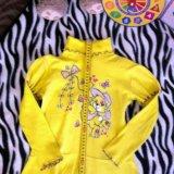 Трикотажное платье 4-6лет. Фото 3. Ногинск.