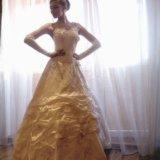 Свадебное платье с корсетом (s-m). Фото 1. Омск.