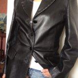 Ferre кожаный пиджак. Фото 1. Москва.