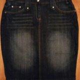 🌟юбка джинсовая р. м новая 🌟. Фото 1. Самара.