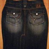 🌟юбка джинсовая р. м новая 🌟. Фото 2. Самара.