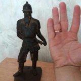 "Чугунная статуэтка ""ермак"". Фото 1."