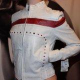 Новая куртка кожа wilson. Фото 3. Химки.