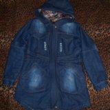 Новая джинсовая куртка. Фото 1. Волгоград.
