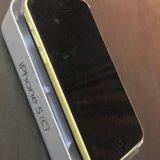 Iphone 5c 16 гб жёлтый. Фото 3. Москва.