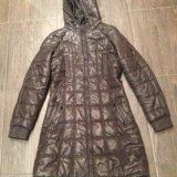Куртка-пальто демисезонное. Фото 1.