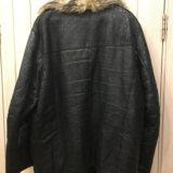 Куртка мужская 52-54 натуральная кожа. Фото 2.