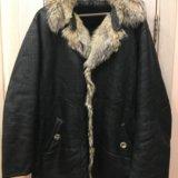 Куртка мужская 52-54 натуральная кожа. Фото 1.
