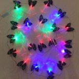 Новогодняя гирлянда бабочки. Фото 1. Санкт-Петербург.