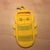 Силиконовый чехол для айфона 5. Фото 2.