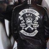 Ed hardy новая куртка нат кожа. Фото 1. Химки.