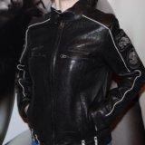 Ed hardy новая куртка нат кожа. Фото 4. Химки.