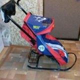 Санки-коляска скользяшки. Фото 3. Пенза.