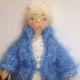 Куколка амигуруми. снегурочка. Фото 1.