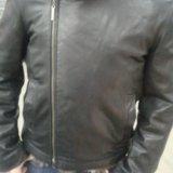 Зимняя кожанная куртка. Фото 2.