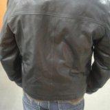 Зимняя кожанная куртка. Фото 3.