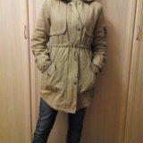 Куртка-парка женская, подростковая. Фото 1.