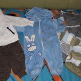 Пакет вещей на девочку от3 до 6месяцев. Фото 2.
