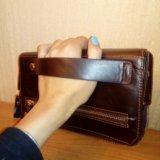 Новый! 3 в одном. мужской кошелек-барсетка-клатч. Фото 3. Балашиха.