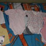 Пакет вещей на девочку от 6 до 9+ месяцев. Фото 1. Таганрог.