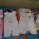Пакет вещей на девочку от 6 до 9+ месяцев. Фото 2. Таганрог.