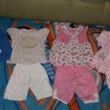 Пакет вещей на девочку от 6 до 9+ месяцев. Фото 3. Таганрог.