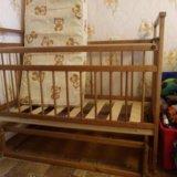 Детская кроватка с матрасом и пеленальный комод. Фото 4. Гостилицы.