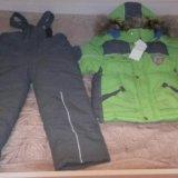 Зимний комплект для мальчика: куртка и штаны. Фото 1. Краснодар.
