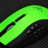 Naga limited razer green edition. Фото 2.