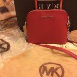 Новые кожаные сумки mk. Фото 2.