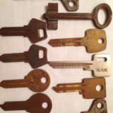 Болванки  для  ключей. Фото 1. Москва.
