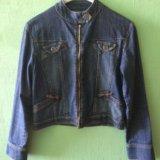 Джинсовая куртка. размер 46-48. Фото 1.